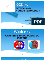 Week 11-12 Chapter 6-Basic AC and DC Motor