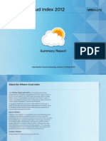 VMware Cloud Index Summary Report