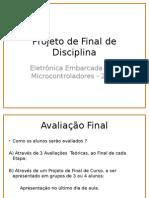 Projeto de Final de Disciplina