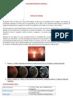 Trabajo de Geología de La Formación de La Tierra