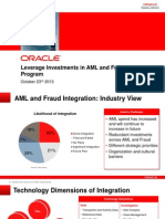 Oracle AML_Fraud Press Ppt