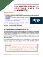 El Informe Técnico