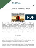 Derecho Ambiental  Derecho Internacional Del Medio Ambiente