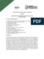 Teoria Arqueologica II Hue-448 Unfv Lflores 2015