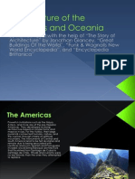 architecture of the americas and oceania