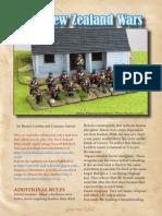 New Zealand Wars Supplement