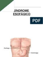 Síndrome esofagico