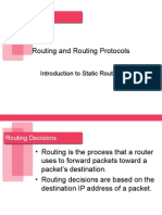 Introduction to Static Routing