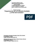 Organizanismos de La Profesión Contable y El Rol Del Contador