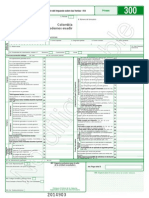 Formulario IVA 300