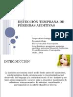 Detección Temprana de Pérdidas Auditivas Angela Pino Univer Concepcion