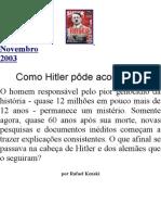 Como Hitler Pôde Acontecer