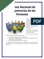 Sistema Nacional de Competencias de Las Personaskika