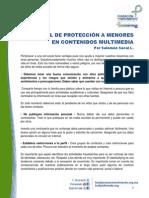 Manual de Protección a Menores en Contenido Multimedia