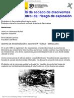 NTP 55_ Túneles de Secado de Disolventes Inflamables Control Del Riesgo de Explosión