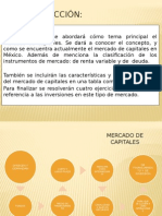 Mercado de Capitales Oficial