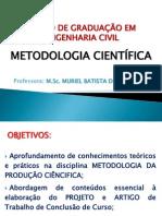 Aula - Metodologia Cientìfica