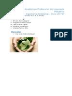 III Cuestionario de Ing. Ambiental