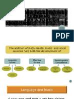 Music as a Facilitating Tool Of Teaching