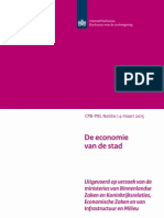 CPB-PBL_De Economie Van de Stad (4mrt15)