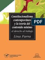 Constitucionalismo Contemporaneo