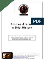 Smoke Alarms A Brief History - Australia New Zealand