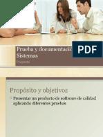 Prueba y Documentacion de Sistemas