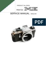 Pentax Me Service Manual