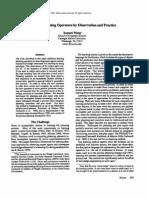 Wang.X(1994) LearningPlanningOperatorsByObservationAndPractice