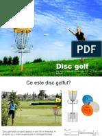 Prezentare Disc Golf