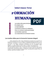 Formación Humana - Rafael Llanes Tovar
