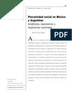 Precariedad Social en México y Argentina - Bayón