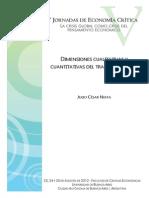 Dimensiones Cualitativas y Cuantitativas Del Trabajo Precario - Neffa
