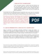 Importancia de La Ética y Deontología Med