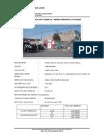 Informe de Valucion Comercial Terreno Semirustica El Bosque