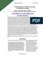 students perceptions case study