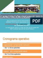 Capacitación ENSANUT 2012