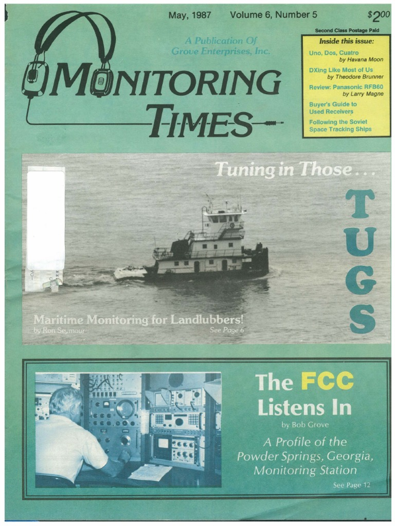 05 May 1987 | Canadian Broadcasting Corporation | Tugboat