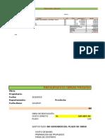 Resumen Presupuesto Gg