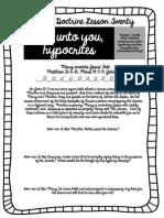 New Testament Worksheet #20 PDF
