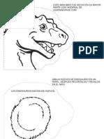 minilibro dinosaurios - Spanish