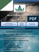 Presentación Proyecto Minero de Hierro Doña Sol Final