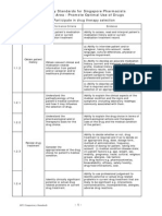 Competency Standards for Singapore Pharmacists (March 2010)