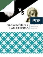 Darwinismo y Lamarkismo