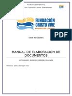 Manual de Elaboracion de Documentos