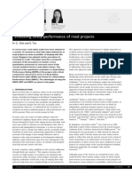 Evaluating Safety Performance of Road Projects