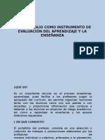 El Portafolio Como Instrumento de Evaluación Del Aprendizaje