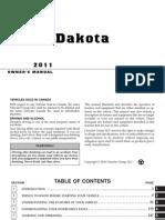 2011 Dakota OM 5th