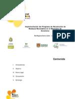 Programa de Recoleccion de Residuos Reciclabes en Xiutetelco