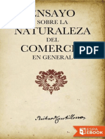 Ensayo Sobre La Naturaleza Del - Richard Cantillon